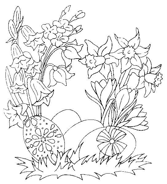 Coloriage et dessins gratuits Jardin Fleurs cadeaux à imprimer