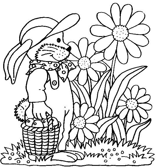 Coloriage et dessins gratuits Jardin Fleurs et Fruits à imprimer