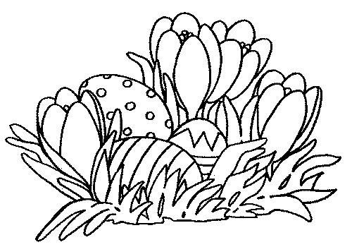 Coloriage et dessins gratuits Jardin Fleurs maternelle à imprimer