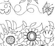 Coloriage dessin  Jardin 5