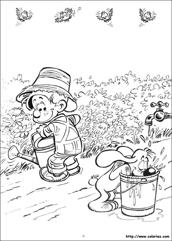 Coloriage et dessins gratuits Le petit Jardinier à imprimer