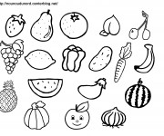 Coloriage dessin  Fruit 38