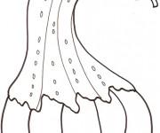 Coloriage Légume d'Aubergine