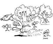 Coloriage et dessins gratuit Furet 7 à imprimer