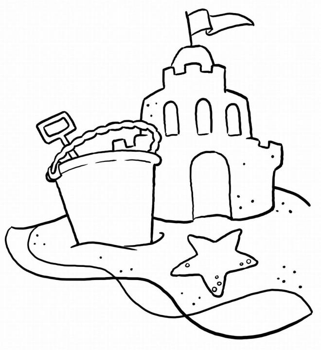 Coloriage et dessins gratuits Sable de La Plage à imprimer