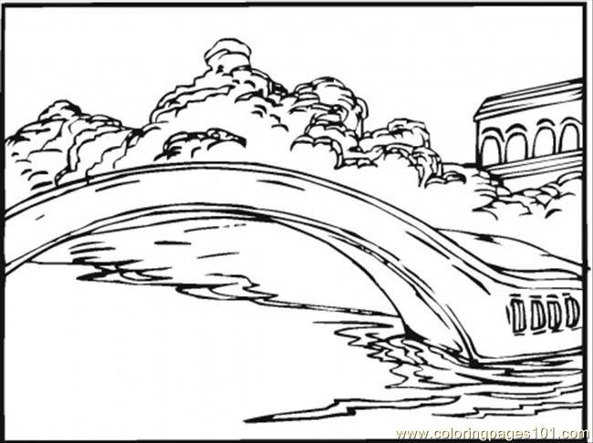 Coloriage et dessins gratuits Pond sur Le Lac à imprimer