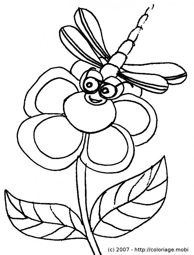 Coloriage et dessins gratuits Libellule 23 à imprimer
