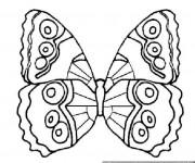 Coloriage dessin  Magnifique Papillon 11