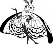 Coloriage dessin  Magnifique Papillon 12