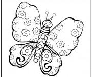 Coloriage magnifique papillon gratuit imprimer liste 40 60 - Coloriage magnifique ...