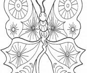 Coloriage Papillon Fantastique
