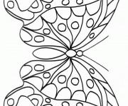 Coloriage Papillon formidable