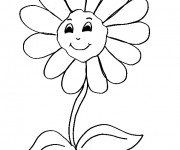 Coloriage dessin  Fleur 12