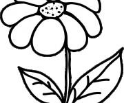 Coloriage dessin  Fleur 19