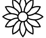 Coloriage dessin  Fleur 24