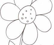 Coloriage dessin  Fleur 73