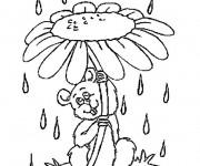 Coloriage dessin  Marguerite 10