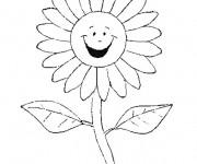 Coloriage dessin  Marguerite 6