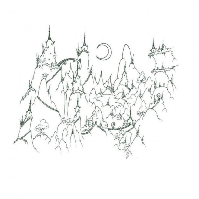 Coloriage Montagne Dessin Anime Dessin Gratuit A Imprimer
