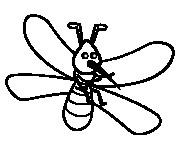Coloriage et dessins gratuit Moustique 16 à imprimer