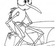 Coloriage et dessins gratuit Moustique humour à imprimer