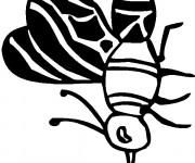 Coloriage Petit Moustique en noir