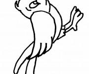 Coloriage dessin  Oiseau 3