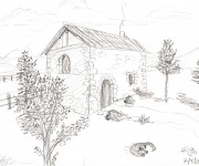 Coloriage dessin  Adulte Paysage 20