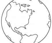 Coloriage dessin  Planete 1
