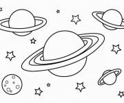 Coloriage dessin  Planete 10