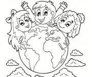 Coloriage dessin  Planete 15