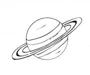 Coloriage dessin  Planete 6