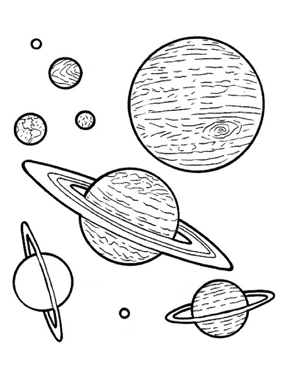 planetes stylisees