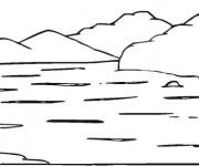 Coloriage dessin  Lac 22