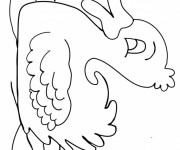 Coloriage et dessins gratuit Le Canard sur La Rivière à imprimer