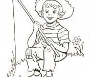 Coloriage dessin  Riviere 11