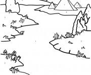 Coloriage dessin  Riviere 17