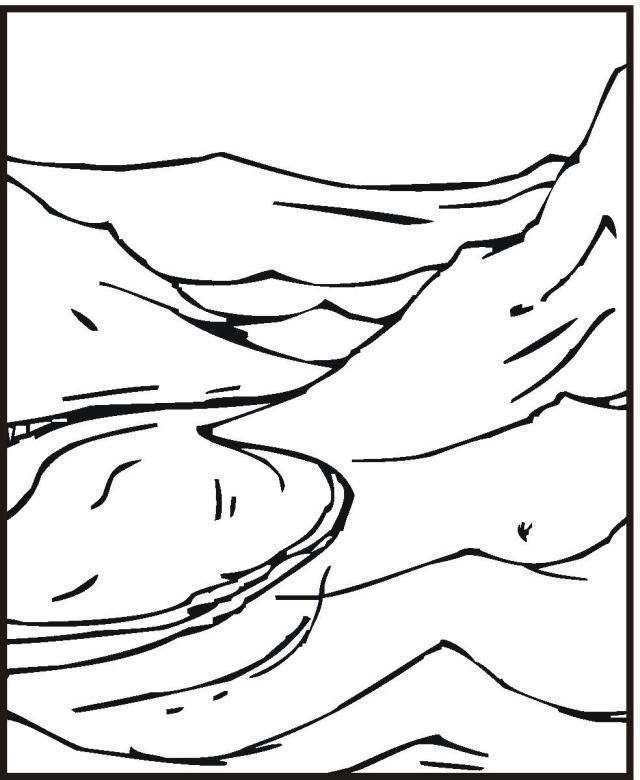 Coloriage et dessins gratuits Rivière à colorier à imprimer