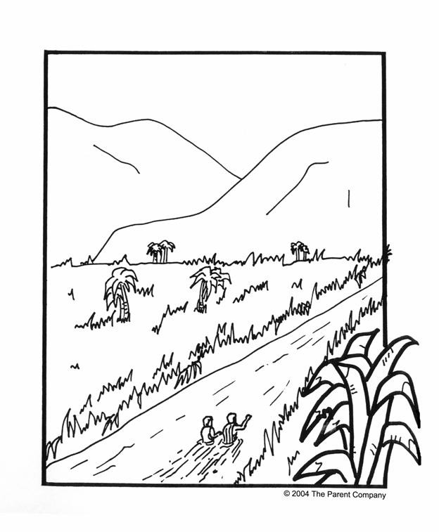Coloriage et dessins gratuits Rivière magnifique à imprimer