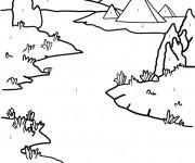 Coloriage et dessins gratuit Rivière Nile à imprimer