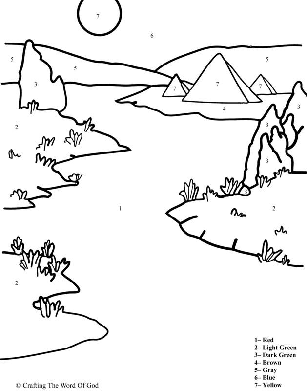 Coloriage et dessins gratuits Rivière Nile à imprimer