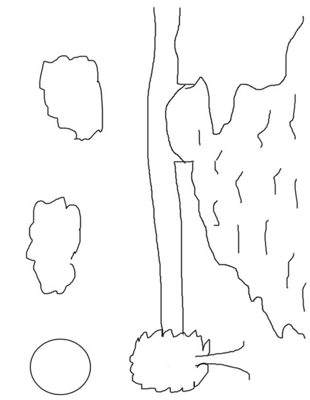 Coloriage et dessins gratuits Rivière pour enfant à imprimer