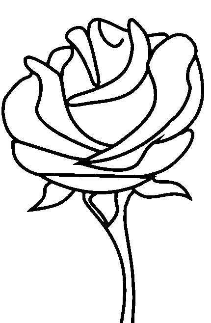 coloriage rose dessiner facile dessin gratuit imprimer. Black Bedroom Furniture Sets. Home Design Ideas