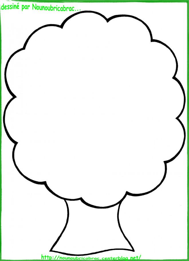 Coloriage dun arbre en automne - Arbre automne dessin ...