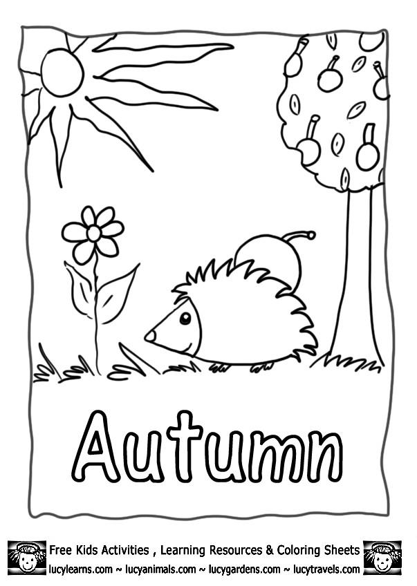 Coloriage et dessins gratuits Automne dessin facile à imprimer