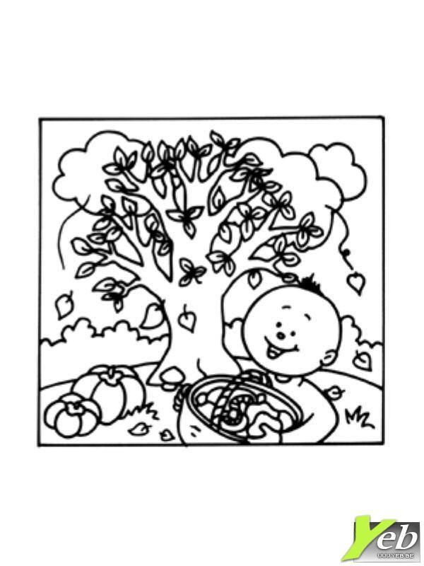 Coloriage et dessins gratuits Automne pour enfant à imprimer