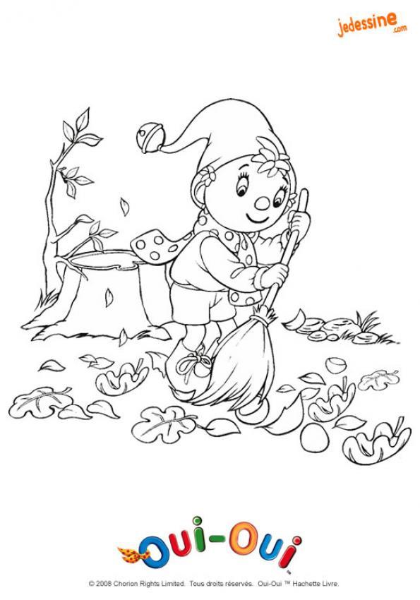 Coloriage et dessins gratuits Feuille Automne à imprimer