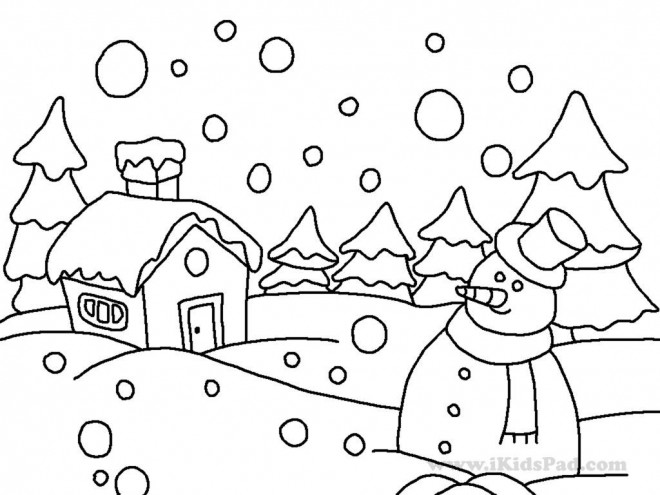 Coloriage et dessins gratuits Hiver Adulte à imprimer