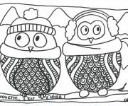 Coloriage dessin  Hiver Maternelle 6