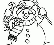 Coloriage dessin  Noel 24